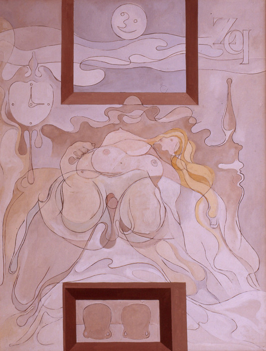 1974 - 116x88 - Oil on canvas - Museum of Zabaleta (Quesada). Censured work in the exhibition in Albaida. Encyclopedia of Etorism of Camiló Cela. Messa made another copy with some variations